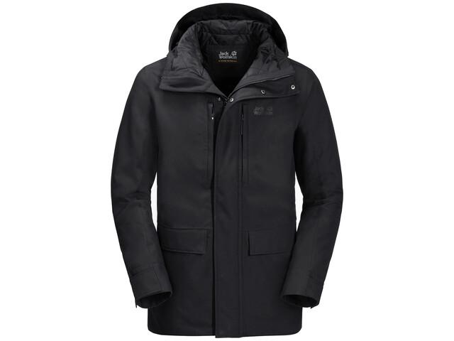 new product d17c3 5f821 Jack Wolfskin West Coast Jacke Herren black